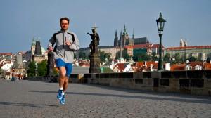 Training in Prague for the Prague to London Run 2012