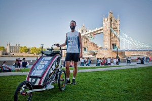 finish of Prague to London Run july 2012